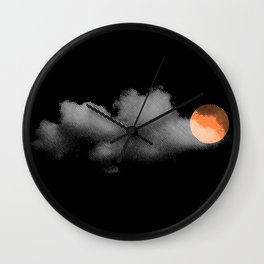weather so changeable Wall Clock