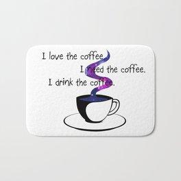 Starlight caffee Bath Mat