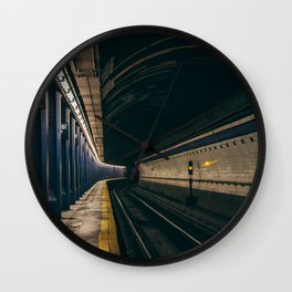 Brooklyn Bridge Subway Station Wall Clock