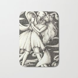 My love the wind Bath Mat