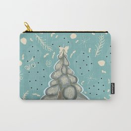 Lovely Christmas Tree Carry-All Pouch