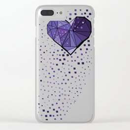 fill my heart Clear iPhone Case