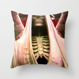 The Angel of Death. Throw Pillow