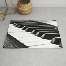 Piano 10  Rug