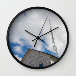 tower to the sky Wall Clock