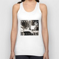 theater Tank Tops featuring Turnage Theater by Justin Alan Casey