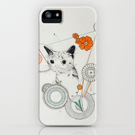 Cat Scammer iPhone Case