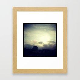 Heavennnnnnn Framed Art Print