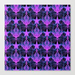 Starfire Kaleidoscope (Aphrodite's Wishing Star) Canvas Print