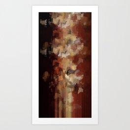 Earthly Eruption Art Print