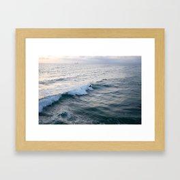 Surfin' USA Framed Art Print
