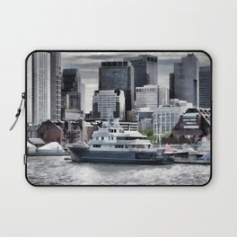 Yachts in Charles River Laptop Sleeve