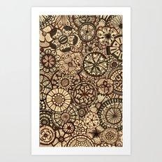 MyFantasticGarden Art Print