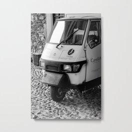 Mobile coffee van Metal Print