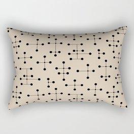 Atomic Era Dots 105 Rectangular Pillow
