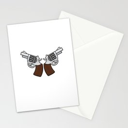 """""""Everyday Carry Use Break Through Clean"""" for both cool and gun lovers like you! Stay brave!  Stationery Cards"""