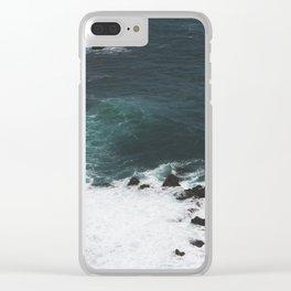 Indigo Coast Clear iPhone Case