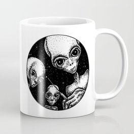After an abduction - adventures with aliens Coffee Mug