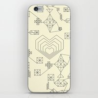 valentine iPhone & iPod Skins featuring Valentine by Leandro Pita