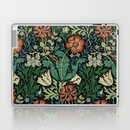 William Morris Compton Floral Art Nouveau Pattern Laptop & iPad Skin
