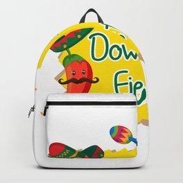 Down To Fiesta Cinco De Mayo Backpack