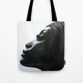Black Woman Tote Bag