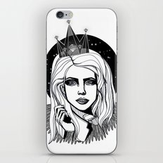 Queen of the night iPhone & iPod Skin