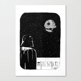 Death Star II Canvas Print