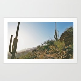 Phoneline Trail Art Print