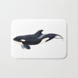 Baby orca Bath Mat