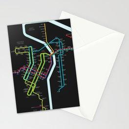 Rail Transit of Portland, Oregon Stationery Cards