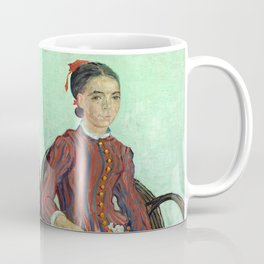 La Mousme by Vincent van Gogh Coffee Mug