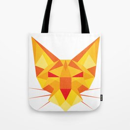 Geometricat Tote Bag