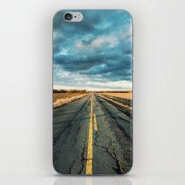 Rough Rural Road iPhone Skin
