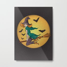 The witch Metal Print