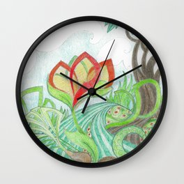 The Bloom Wall Clock