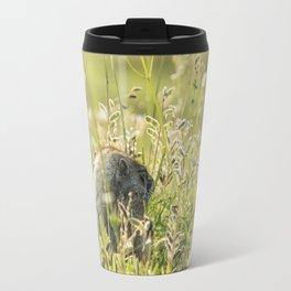 Hoary Marmot's Peek at Paradise Travel Mug