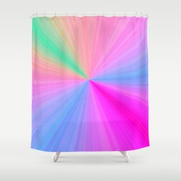 Re-Created Pt. FOURTEEN by Robert S. Lee  Shower Curtain