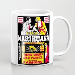 Marijuana Poster (Reefer Madness) Coffee Mug