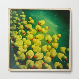 All The Rubber Duckies Metal Print