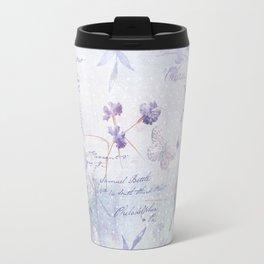 Lavender Garden Travel Mug