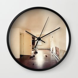 Moving In Wall Clock