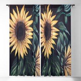 Sunflower Life Blackout Curtain