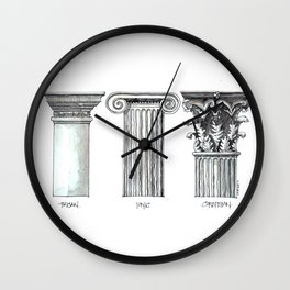 Order of the Day Wall Clock