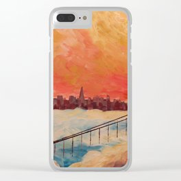 San Francisco Golden Gate Clear iPhone Case
