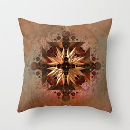 Earth Jewel Throw Pillow