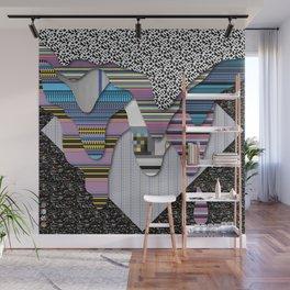 drippy black Wall Mural