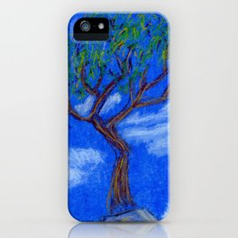 REALLY Blue Bonsai iPhone Case