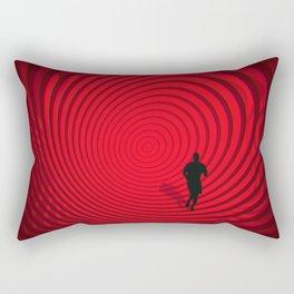 Into The Unknown CVII - Escape II Rectangular Pillow