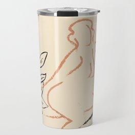 Nude Line Travel Mug
